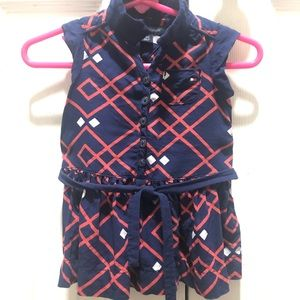 Tommy Hilfiger Dress Infant Navy and Red Sz 3-6M